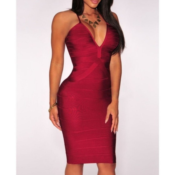 11dca6e36f0 Hot Miami Styles Dresses   Skirts - Hot Miami Styles Bandage Dress